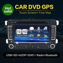 Auto USB Car PC DVD GPS 2 Din Stereo Player For VW Golf 5 6 Polo Bora Jetta MK4 B6 Passat Tiguan Skoda Octavia Fabia BT FM RDS