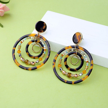 Burnt Circle Earrings Jewelry Earrings f02846ee759da375bf7e2a: As Pictures