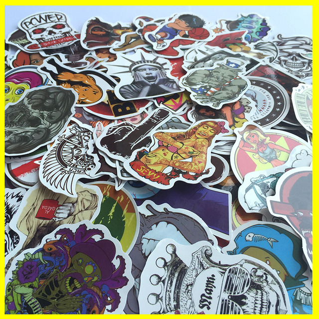 Mixed Stickers Decal