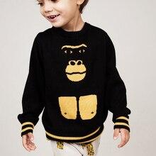 М . г . детская мода бренд детей детской одежды мальчиков хлопка свитер детей горилла девушки кардиган бесплатная доставка