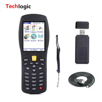 Techlogic X7 PDA Barcode Scanner Portable Laser Barcode Reader Inventory Scanner and handheld terminal logistic barcode gun