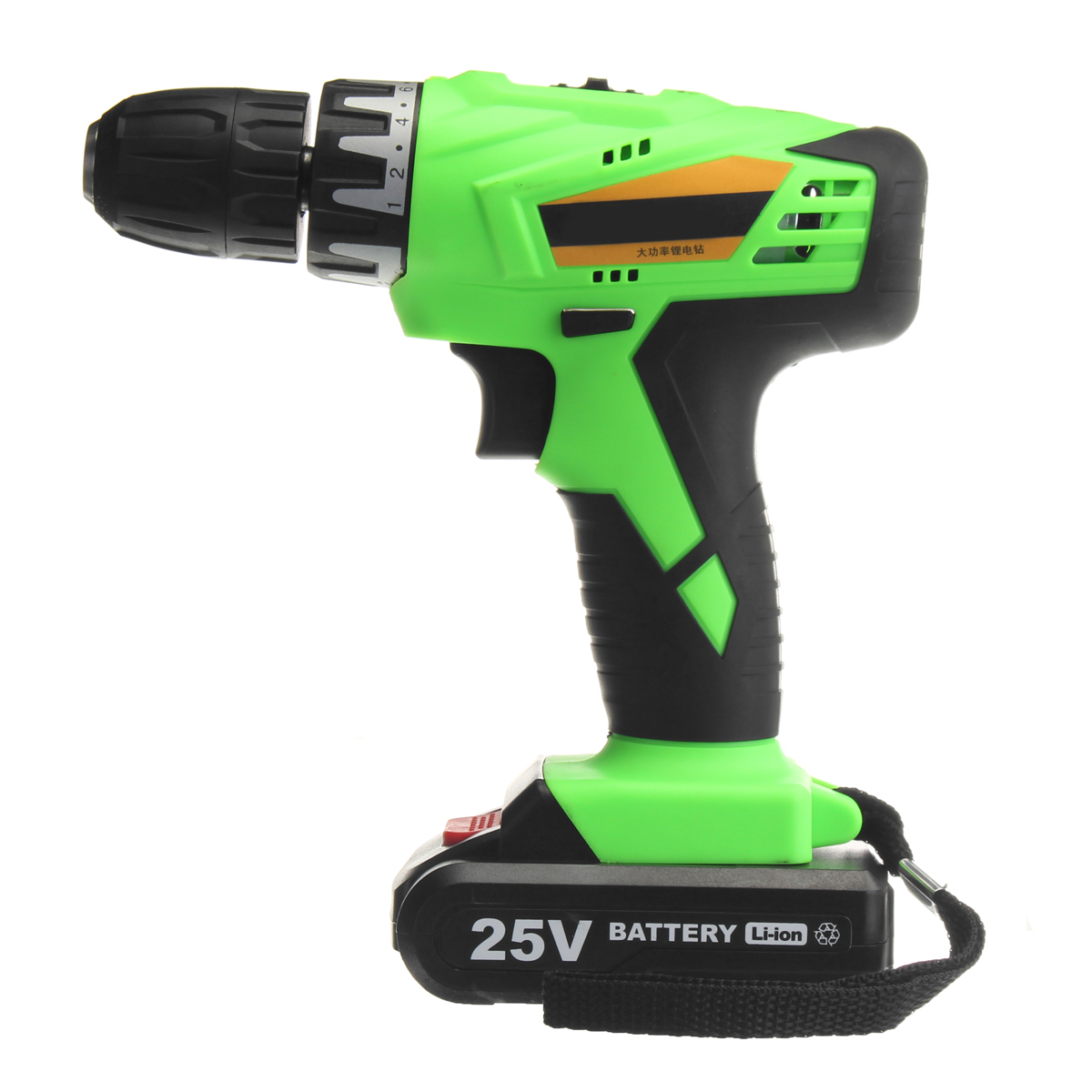 Hot 25V Cordless Power Drill 1.3A Output 2 Lithium-Ion Battery Rechargeable Electric Screwdriver Kit Repair Tool With ChargerHot 25V Cordless Power Drill 1.3A Output 2 Lithium-Ion Battery Rechargeable Electric Screwdriver Kit Repair Tool With Charger