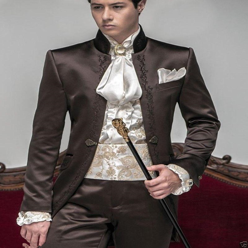 2017 New Style Hot Sale Groom Tuxedos Wedding Suits Men