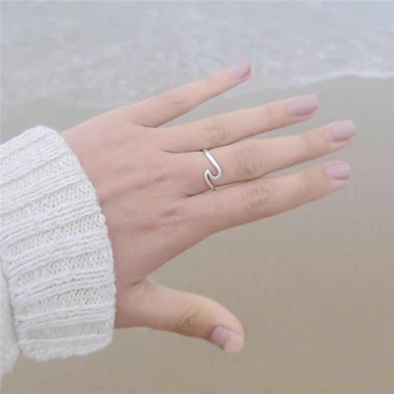 Stainless Steel Jewelry Accessries Gold Color Anel Fashion Sculpture Statement Ring For Women