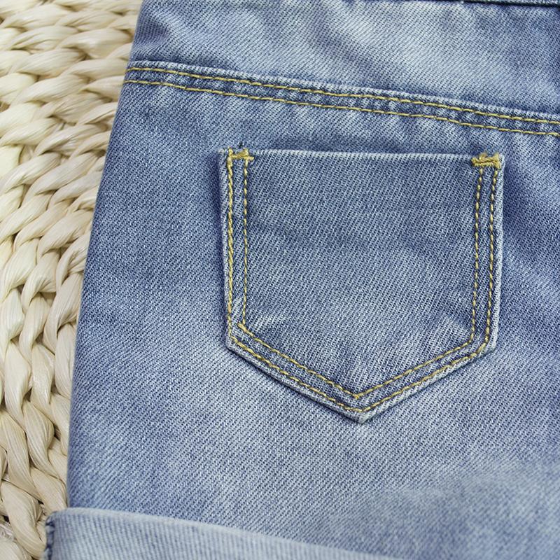 b839670ea036 HSID1701007--11Infant Denim Jumpsuit Toddler Boy Girl Suspender Jeans  Shorts Kid Rompers Bodysuit Pocket Straps