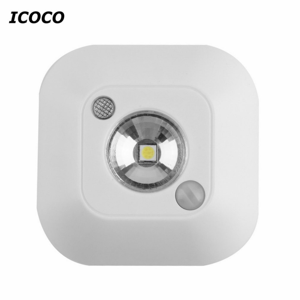 Wireless Ceiling Lights Infrared Motion Sensor Ceiling Night Lights Mini luminaria Lamps LED Ceiling Light Lighting Porch Lamp led beetle nightlight porch stairway wall lamp wireless motion sensor intelligent led human body induction sconce night lights