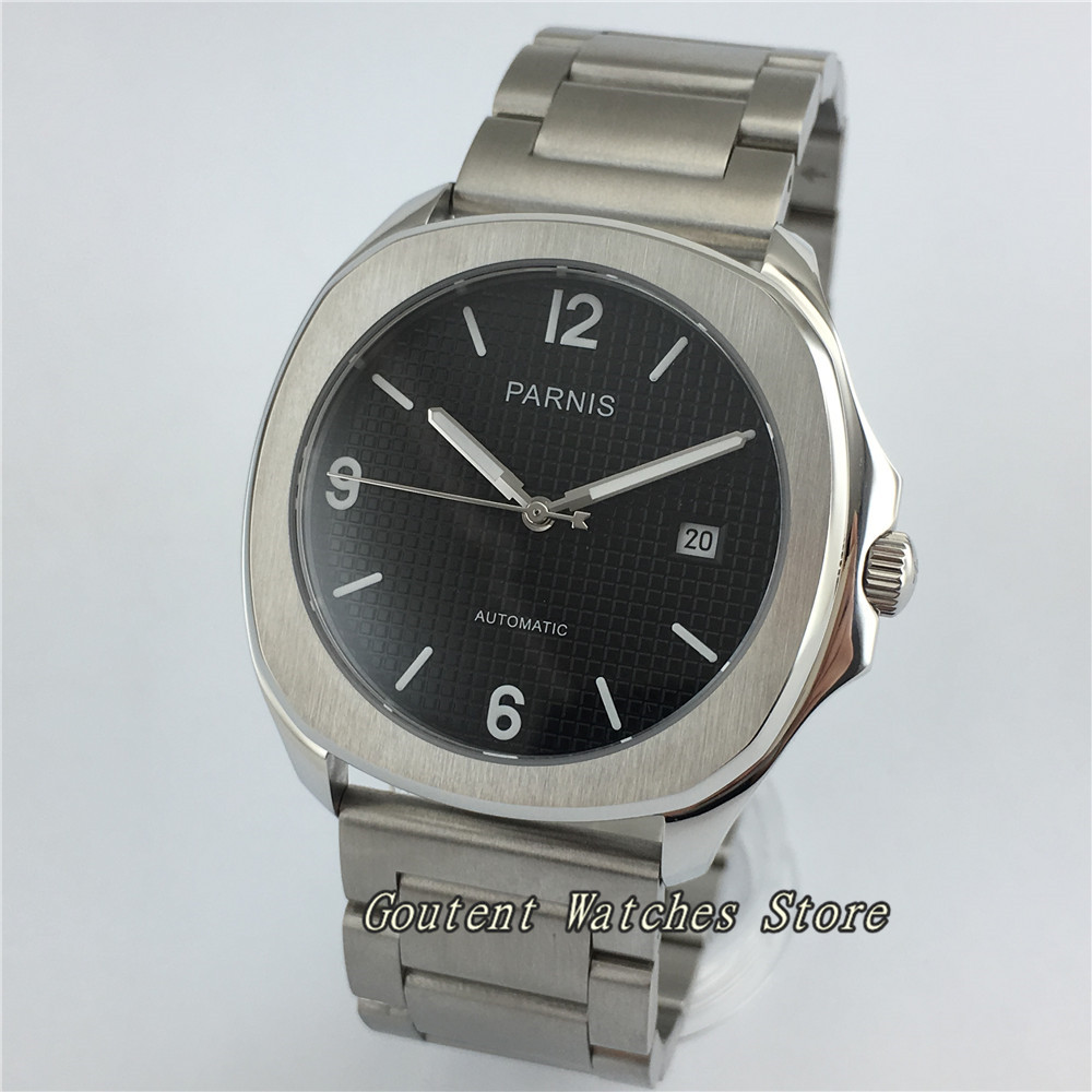 39mm Parnis SS Case Miyota 8215 Sapphire Glass Automatic Men s Watch