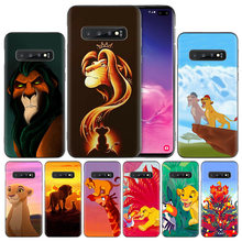 Lion King Silicone Case Cover voor Samsung Galaxy A50 A80 A70 A60 A40 A30 A20 A20e A10 A9 A8 A7 a6 Plus 2018 Note 8 9(China)