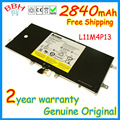 Genuine original L11M4P13 2840mah battery for Lenovo IdeaPad Yoga 11 11S 11.6 inch Ultrabook batteria batterie batteries AKKU