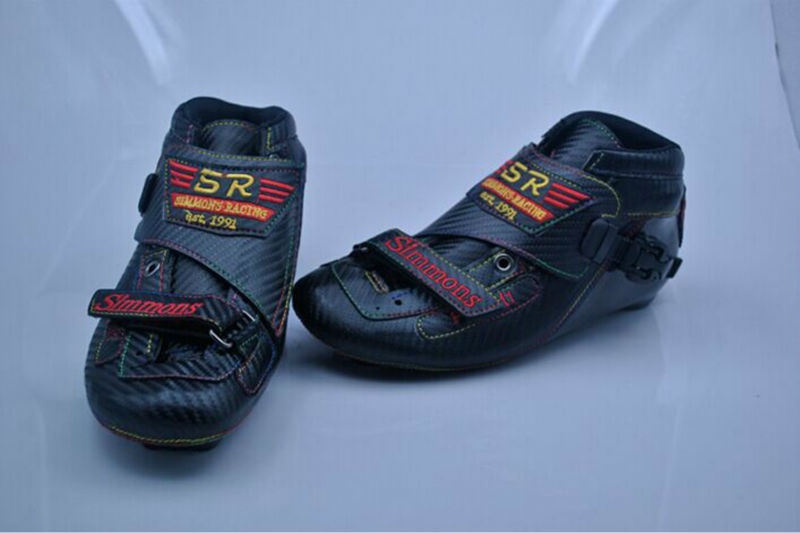 Free Shipping Adult's Speed Skates My Speed Simmons M1 Boots Black