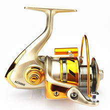 High Quality Smooth Fishing Reel Metal 10+1BB Carp Spinning Casting Bait Runner Reels Pesca Wheel