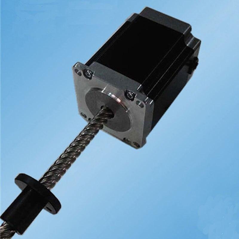 500W 6V 3.0Amp 2.2N.m length 300mm 57SHD0807 300NZ hybrid linear stepping motor