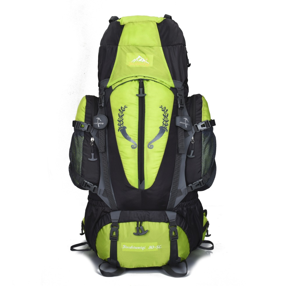 85L Men Women Travel Backpack Bag Unisex Men Women Travel Backpacks Waterproof Nylon Rucksack for Travel