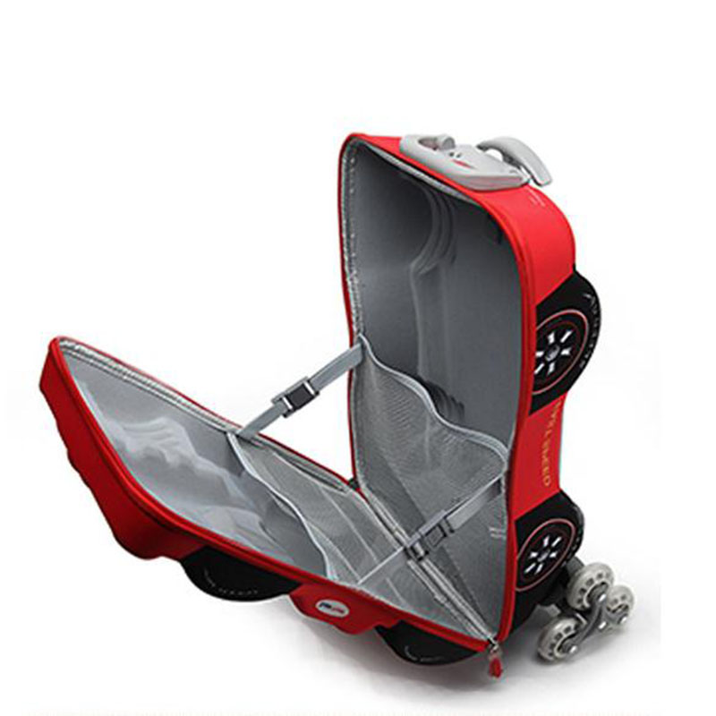Baigio Baby Boys Cartoon Plane EVA 18 '' 3D Bagage Barns Hjulvagn - Väskor för bagage och resor - Foto 4