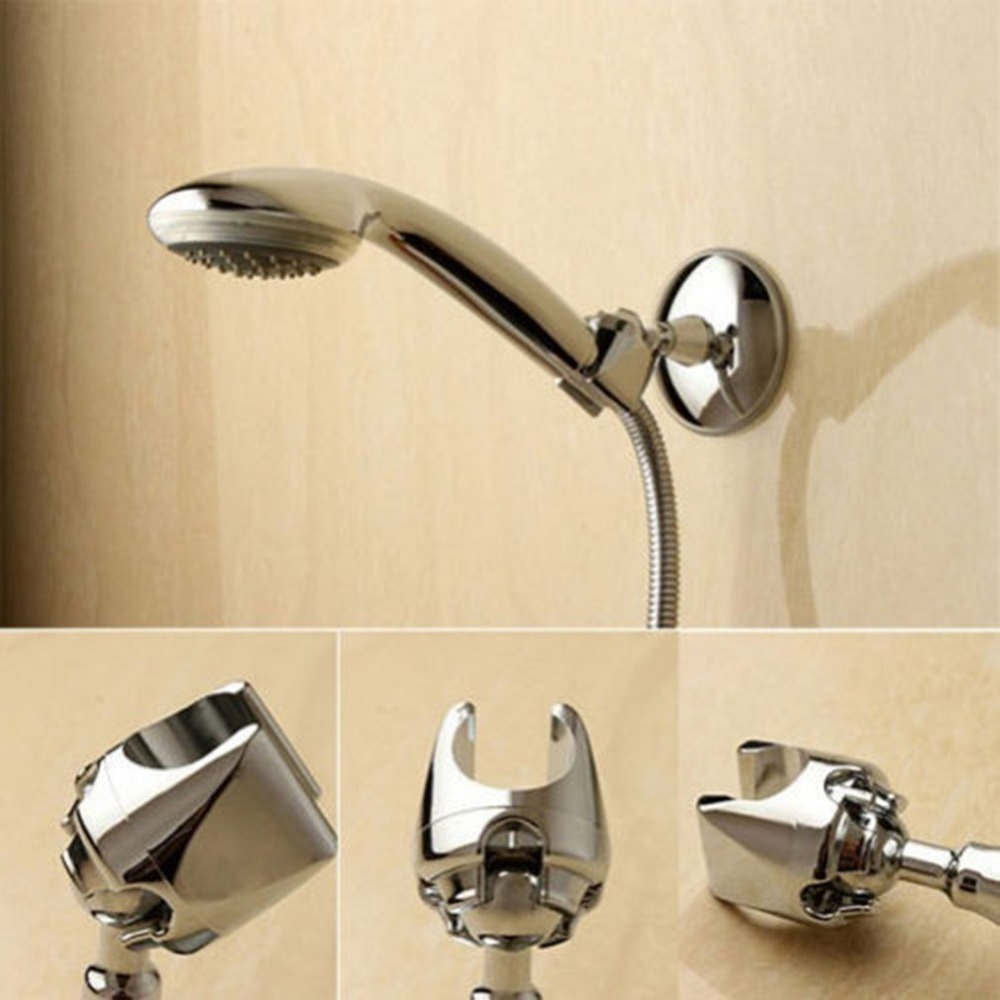 Adjustable Shower Head Holder Cup Vacuum Wall Mount Rotatable Suction Bracket