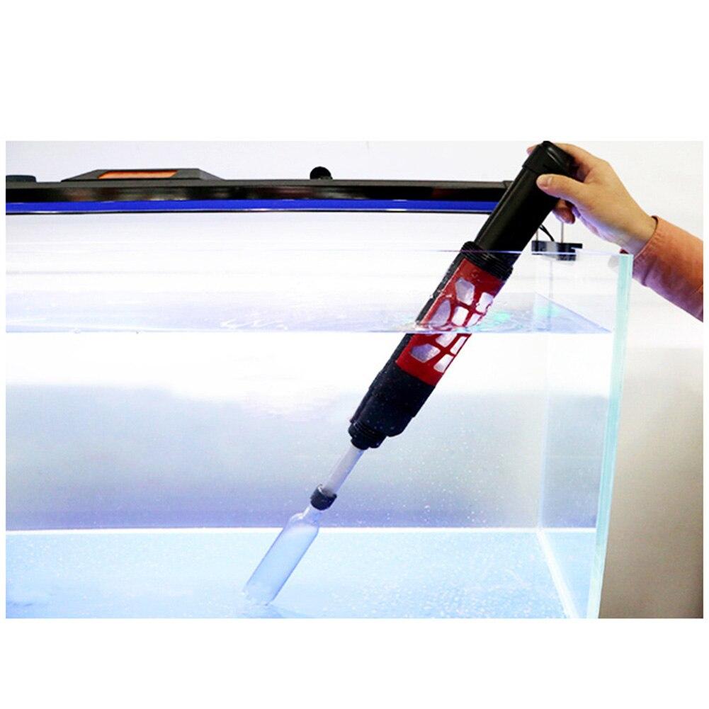 Аквариум Электрический фильтр для воды насос песок Ручная стирка устройства для очистки смены аквариум @ LS