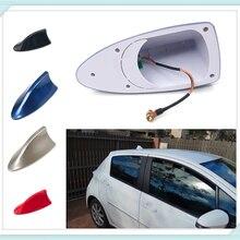 Высокое качество автостайлинг Акула плавник радио сигнал антенна для установки на крыше Автозапчасти для Porsche Macan Cayenne 911 Panamera Mission