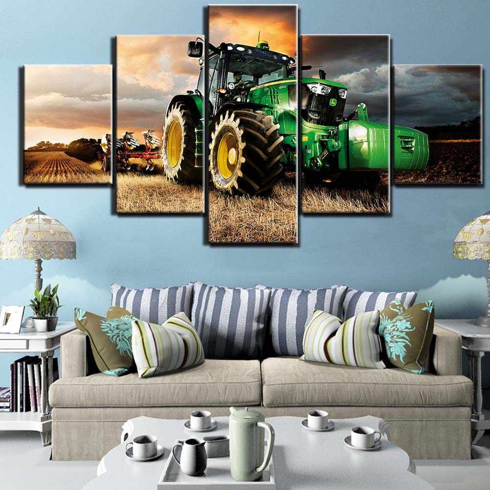 canvas painting 32 piece art tractor HD printed wall Art home decor ...