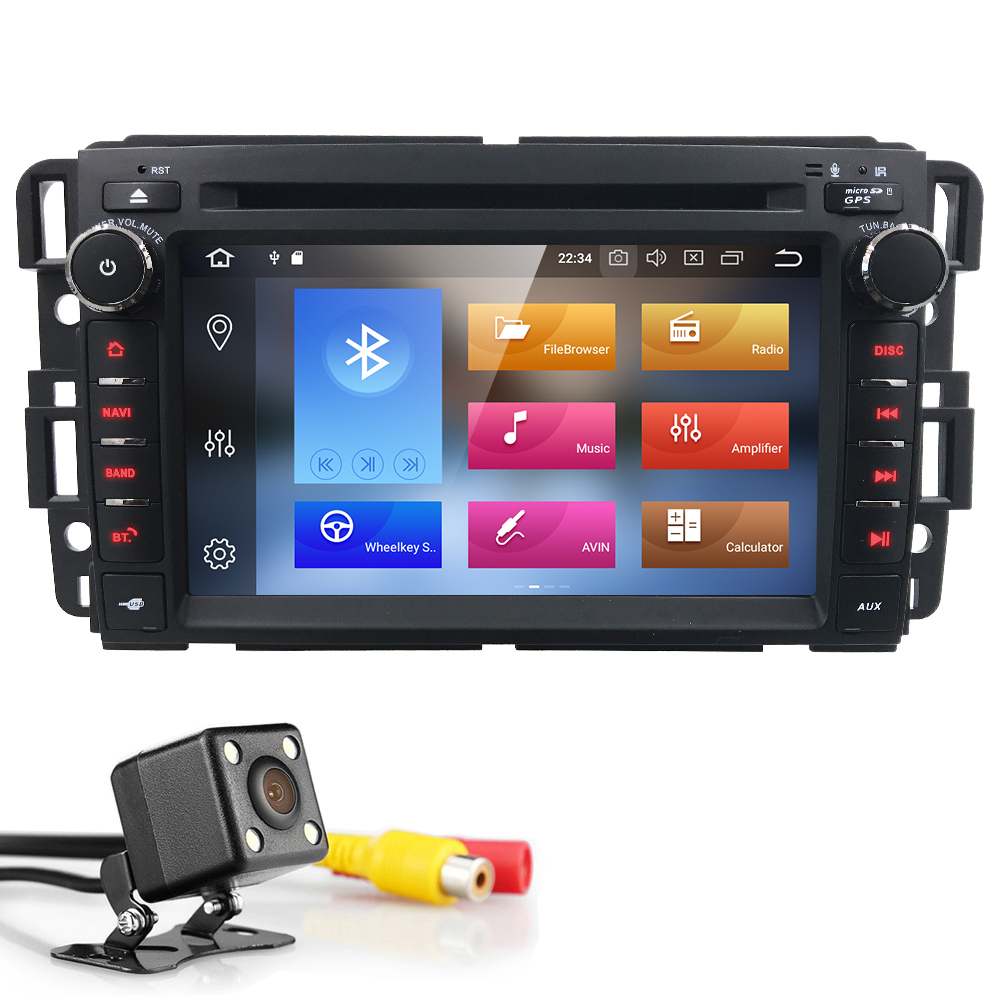 "7""PX5 4G+32G Head Unit Android Car Radio Stereo Audio GPS Navigation For Chevrolet Traverse Tahoe Suburban GMC Multimedia player"