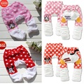 Polka Dot Baby Girls Pants Coral Fleece Newborn Panties Baby Clothes Trousers Babe PP Pant Leg Warmers Minnie Daisy