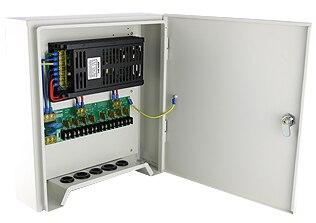 12V 20A 240W 8Ch Outdoor Rainproof Power Adapter Supply for CCTV Camera White (default) jd коллекция default default