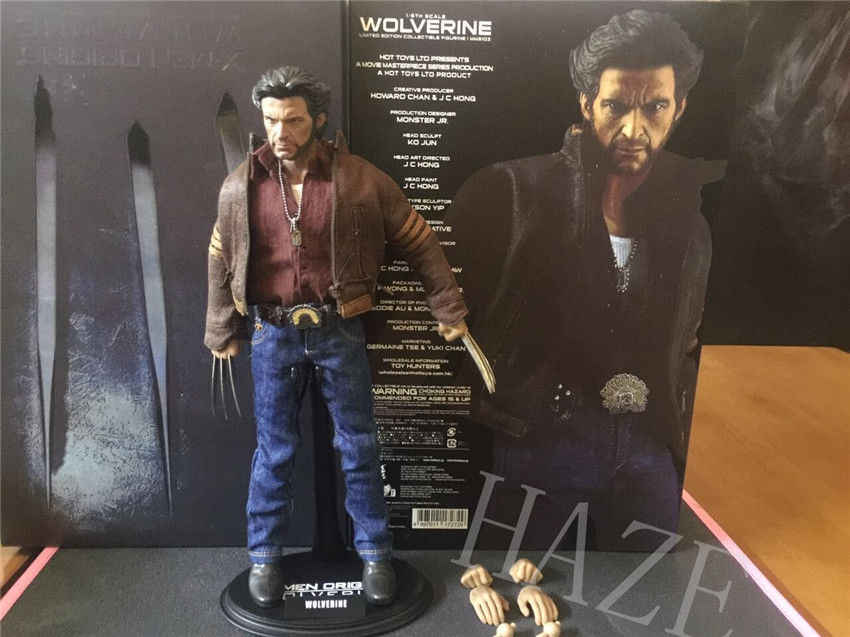 """12 """"X-X-men Origins Wolverine Marvel Avengers 1/6 Figura de Ação Brinquedos Quente novo"""