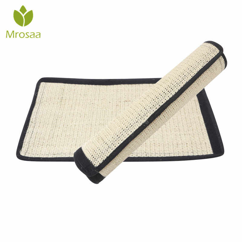 Cat Scratching Post Mat For Cats Natural Sisal Protecting Furniture Foot Chair Protector Pad Climbing Tree cat Scratch Pad Board