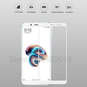 Image 5 - 3D Volle abdeckung Gehärtetem Glas Für Xiaomi Redmi Hinweis 5 Pro Screen Protector Für Redmi Hinweis 5 Globale Version sicherheit schutz Film
