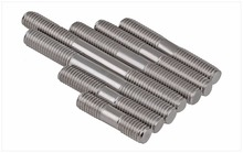 цены 20PCS M6 Stainless Steel Double End Threaded Screw Headless Double Thread Studs Bolt M6*25/30/35/40-100mm