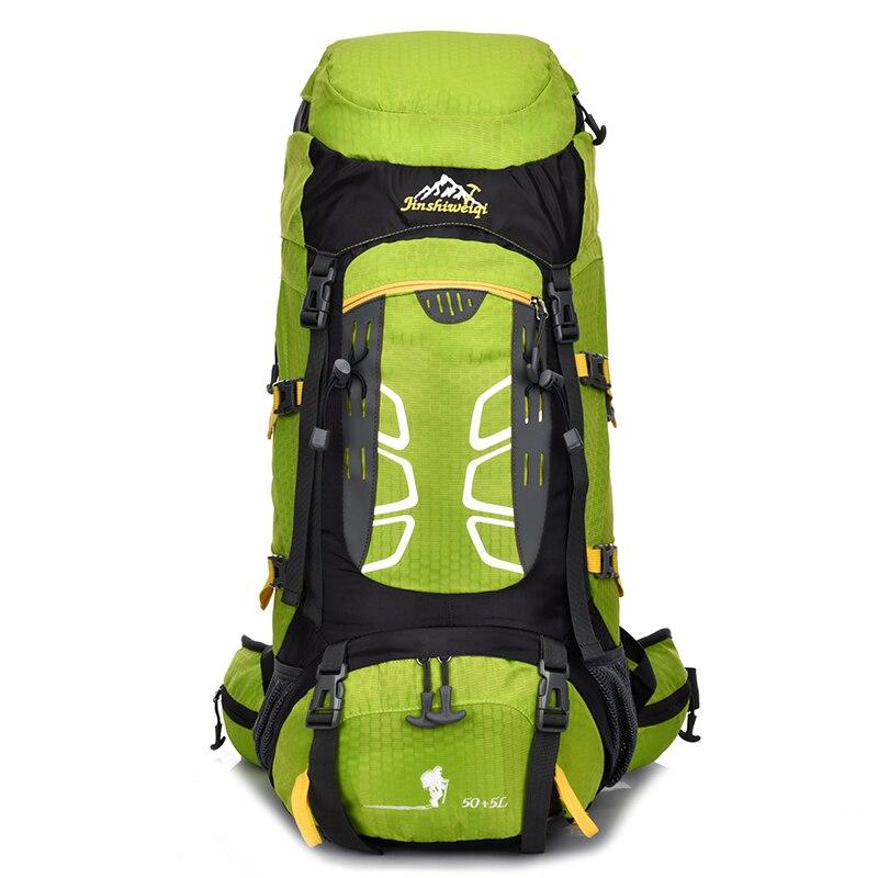 55L Large Waterproof Travel Bags new 2016 Rucksack Men Nylon Backpacks Bag women Climb Hike Backpack