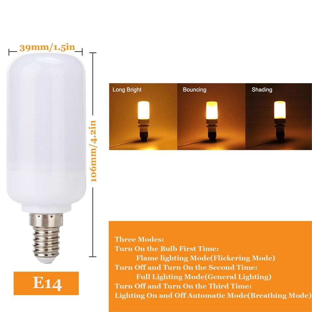 Lâmpadas Led e Tubos de milho conduziu a lâmpada Modes : Three Modes