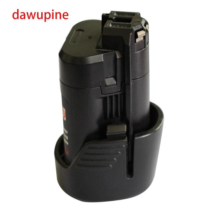 dawupine BAT411 Li-ion Battery For Bosch 10.8V 12V 2Ah BAT411 BAT412A, BAT413A 2607336996 Drill Li-ion Battery