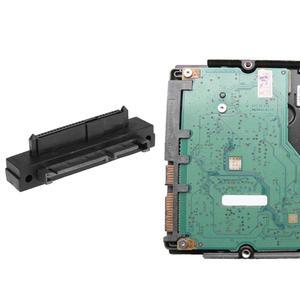 Image 2 - 22Pin SATA Male to 22Pin SAS Female Port Extension Converter Adapter SAS HDD SSD to SATA adaptor