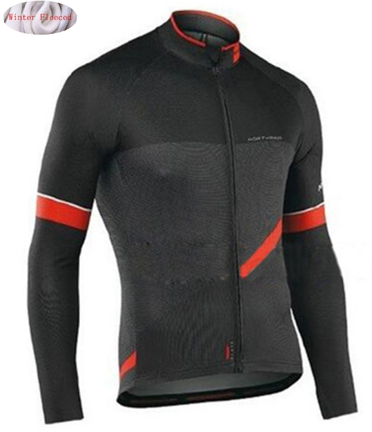 цена на NW 2018 Cycling Jersey Winter Thermal Fleece Bicycle Cycling Jersey Jacket Warm Moutain Bike Clothing Northwave