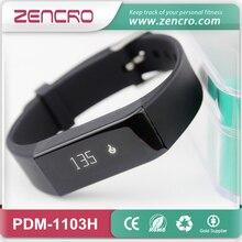 Zencroที่มีสีสันสายรัดข้อมือกิจกรรมสมาร์ทฟิตเนสติดตามวงนาฬิกาชีพจรสำหรับiOS