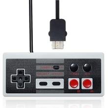 Nouveau Pour NES Classique Mini Édition Turbo Filaire 2.7 m Rétro Gaming contrôleur Gamepad Pour Nintendo Pour Mini NES Pour Wii Jeu Pad