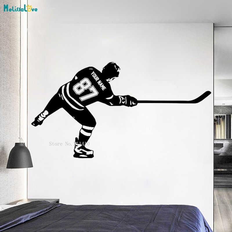 jungen eishockey schlafzimmer