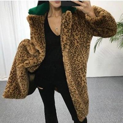Новый стиль высокого класса модное женское пальто из искусственного меха 17C24