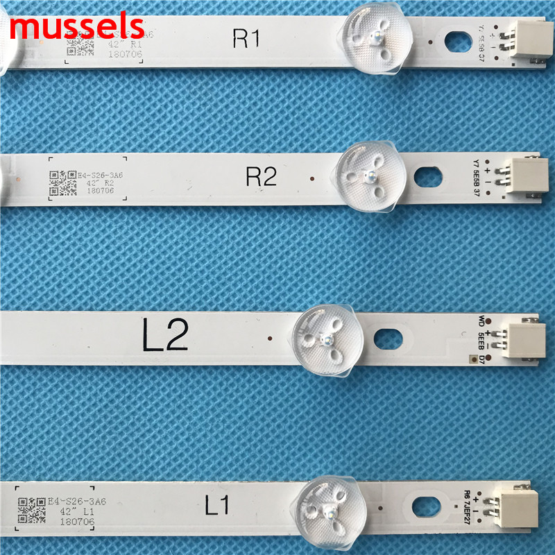 "For LG 42"" TV LED Backlight strip  6916L-1519A 6916L-1520A 6916L-1521A 6916L-1522A 42LN549E E420D-A0 E420I-A0 42LA6200 P42D23-00"