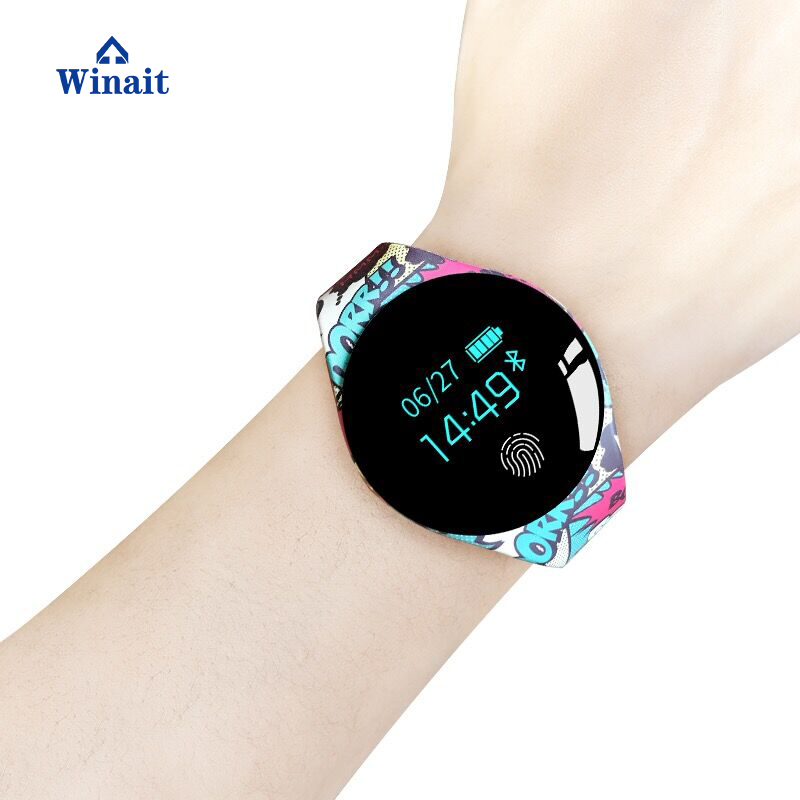 Winait TLW08 Sports Bracelet Strap Removable Smartwatch Professional Waterproof Round Gps Watch for Android 4.4 IOS 8.0 Above