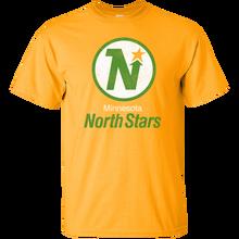 Minnesota, North Stars, Hockey, Logo, Retro, St. Paul, Minneapolis, Vikings, Tim Harajuku Tops Fashion Classic Unique t-Shirt