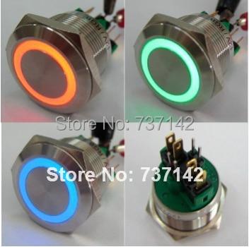 elewind 22mm rgb three led color momentary push button switch(pm221felewind 22mm rgb three led color momentary push button switch(pm221f 11e rgb
