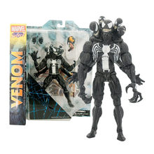 21 cm DST Marvel Select The Amazing Spider man 2 Venom PVC Action Figure Toy Collcetion modelo frete grátis KB0365(China)