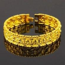 Женский браслет finework с желтым золотом