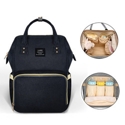 Land large capacity diaper bag mommy maternity baby nappy bag nursing bag multifunctional backpack baby care.jpg 250x250