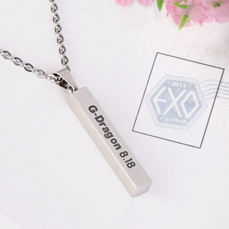 Youpop Kpop Bigbang Gd G-DRAGON K-pop Gdragon necklace Accessories For Men And Women Made The Full Album