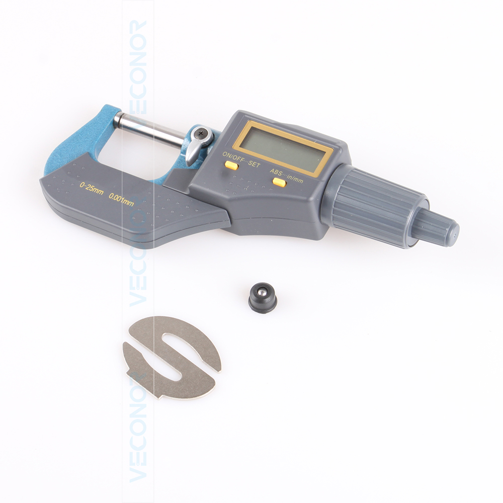 0~25mm digital electronic micrometer microcaliper milscale (batteries are not included)