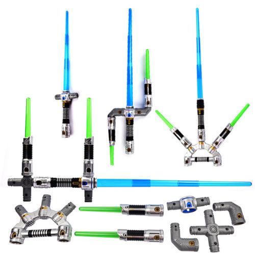 Star Wars The Force Awakens Jedi Master Bladebuilders Lightsaber laser sword kids gift laser sword of the double head laser sword cu guangzhu stage performance props laser rod 100mw