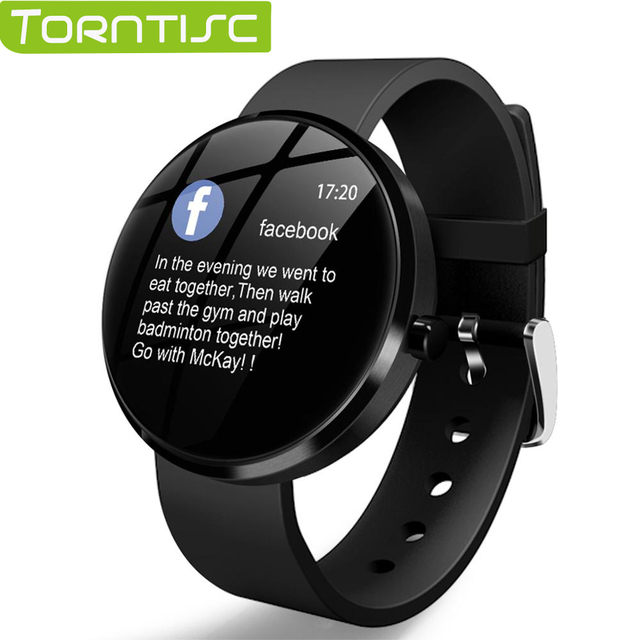 Torntisc Smartwatch 1.22 Inch Display Fitness Bracelet Sport Tracker Men IP68 Waterproof Heart Rate Monitor