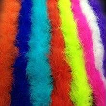 2 м/шт. пушистые белые струны Боа супер качество турецкие перья боа для рукоделия вечерние/костюмы/декоративная шаль